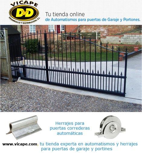 Herrajes necesarios para puertas correderas autom ticas - Convertir puerta en corredera ...