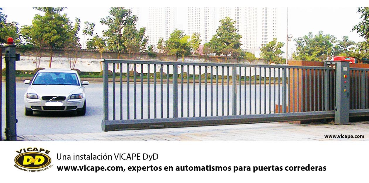 instalacin de motores para puertas correderas automaticas vicape y tienda online vicape de para