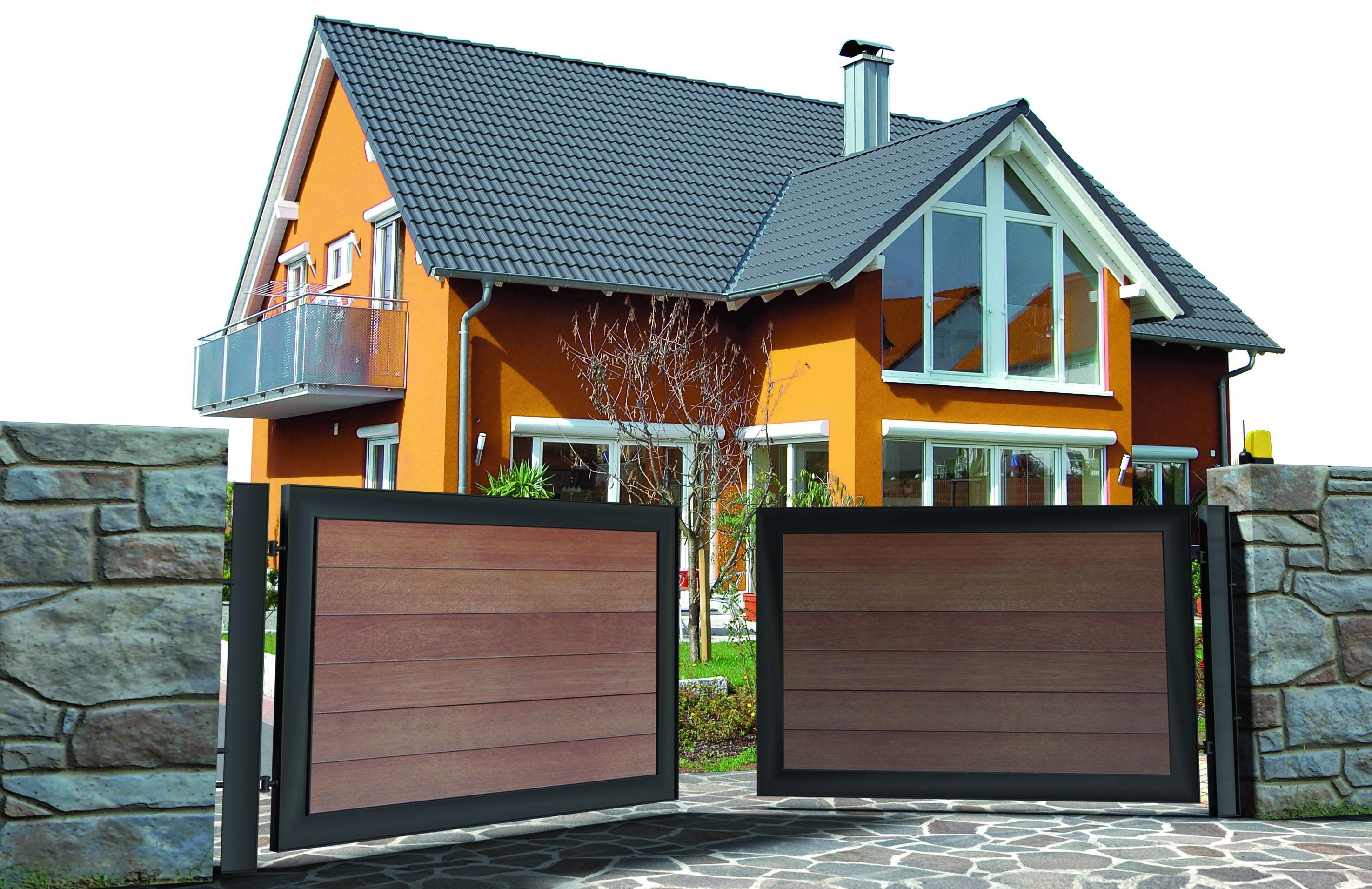 Puertas batientes automaticas vicape com expertos en - Automatismos para puertas de garaje ...