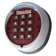 teclado código para puertas automáticas