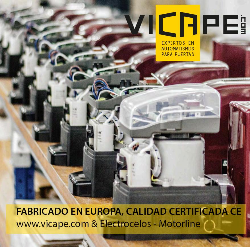 Vicape com expertos en automatismos para puertas - Motores electricos para puertas ...